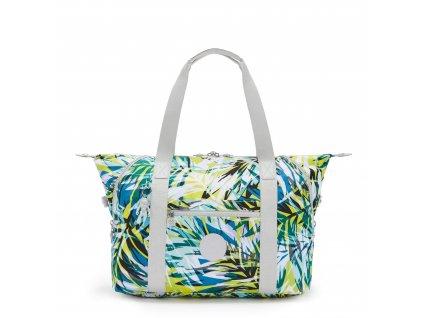 Sportovní taška ART M Bright Palm  Kipling