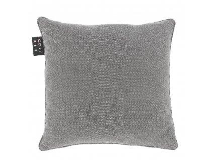 Samohřející polštář 50 x 50 cm pletený šedý  COSI