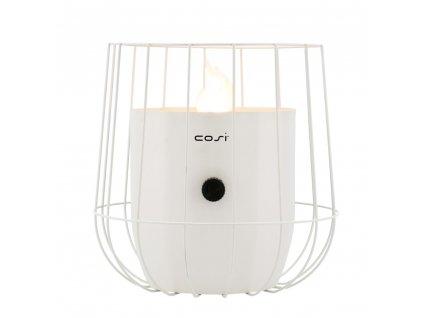 Plynová lucerna Cosiscoop Basket bílá  COSI