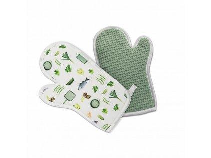 Dr.Green® Kuchyňská rukavice  Risoli