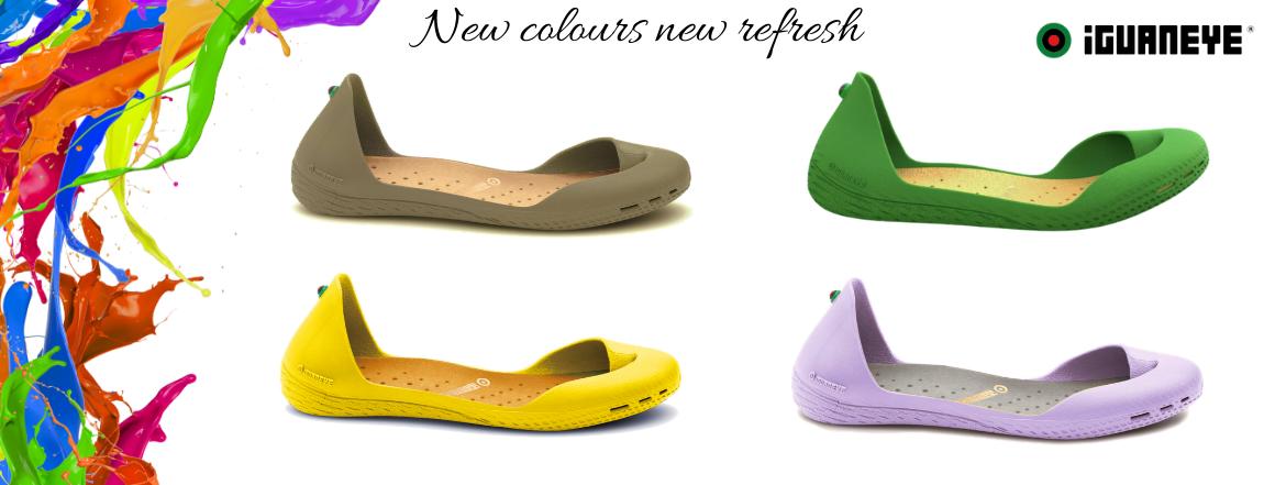 Nové barvy Freshoes 2