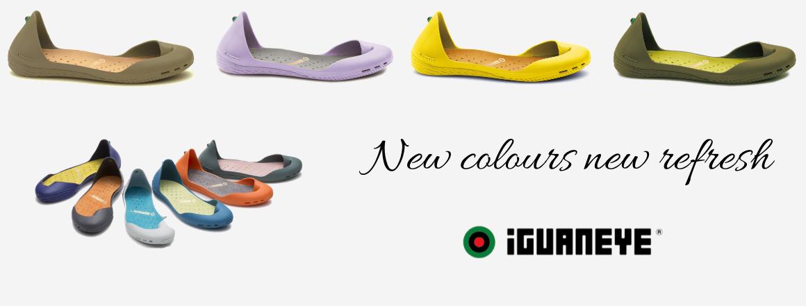 Nové barvy Freshoes
