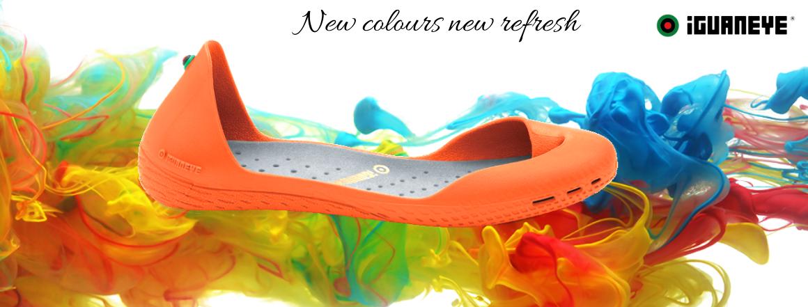 Nové barvy Freshoes 3