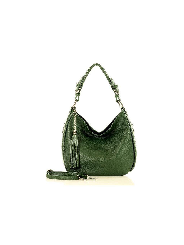 32877 kozena kabelka pres rameno mazzini m18m4 zelena