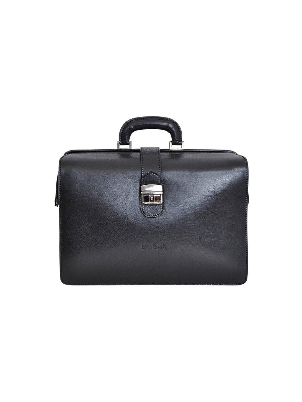 Pánská kožený kufřík Pierre Cardin 1051 RM02 černý