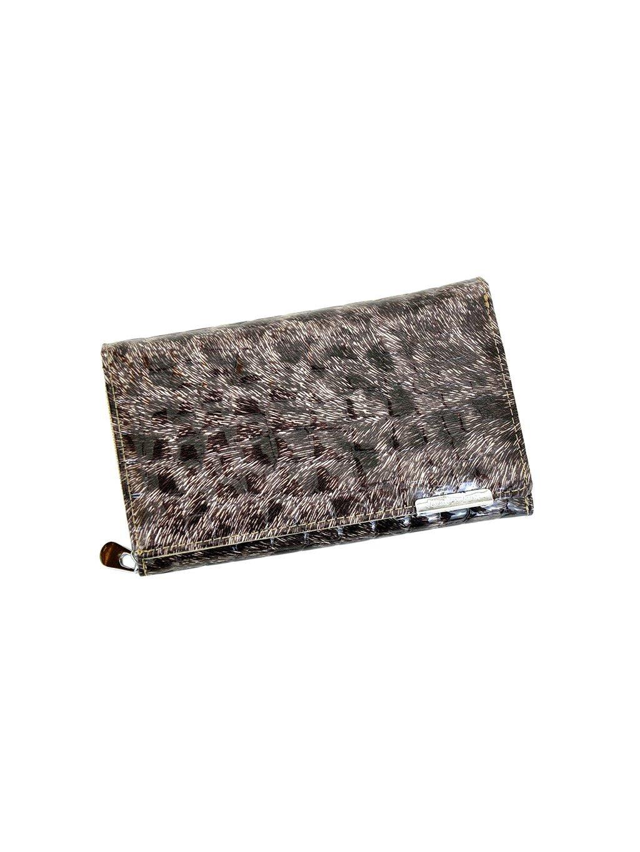 Dámská kožená peněženka Jennifer Jones 5261 šedá