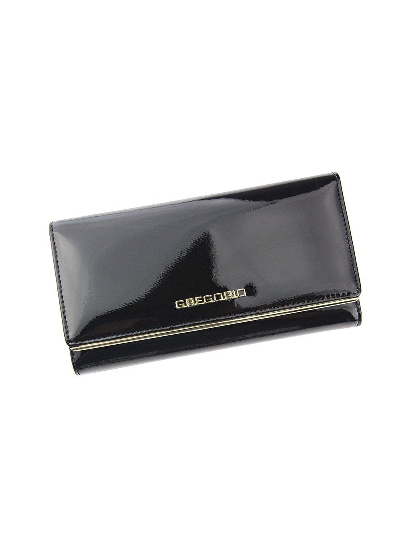 Dámská kožená peněženka Gregorio ZLL-100 tmavě hnědá
