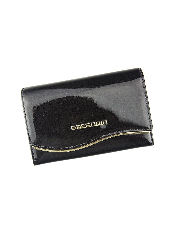 Dámská kožená peněženka Gregorio ZLF-101 tmavě hnědá