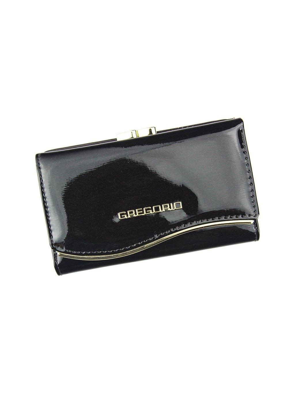 Dámská kožená peněženka Gregorio ZLF-108 tmavě hnědá