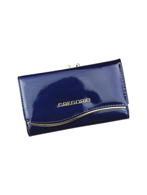 Dámská kožená peněženka Gregorio ZLF-108 modrá