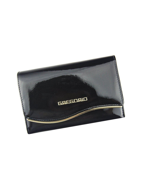 Dámská kožená peněženka Gregorio ZLF-112 černá