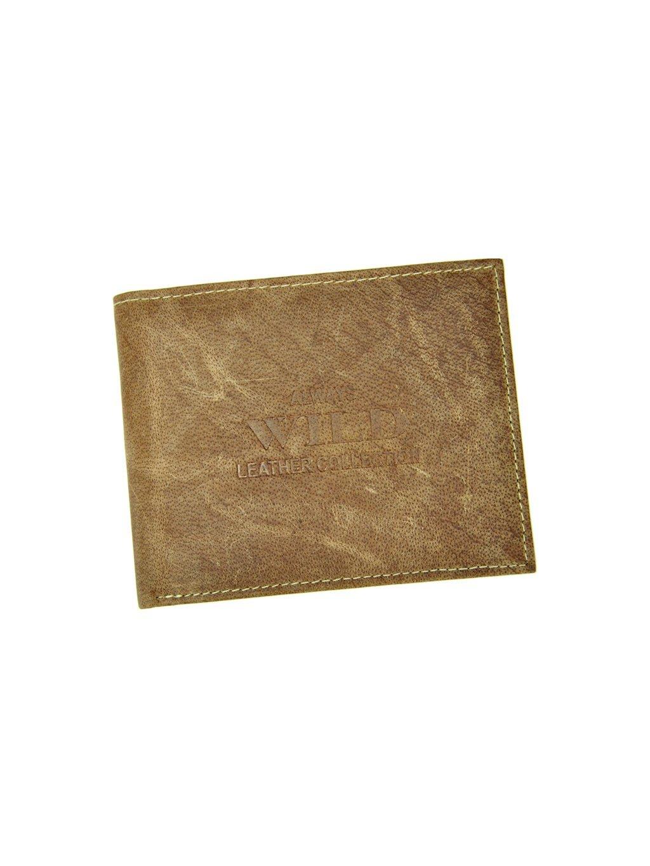 Pánská kožená peněženka Wild RMH-03-CFL světle hnědá