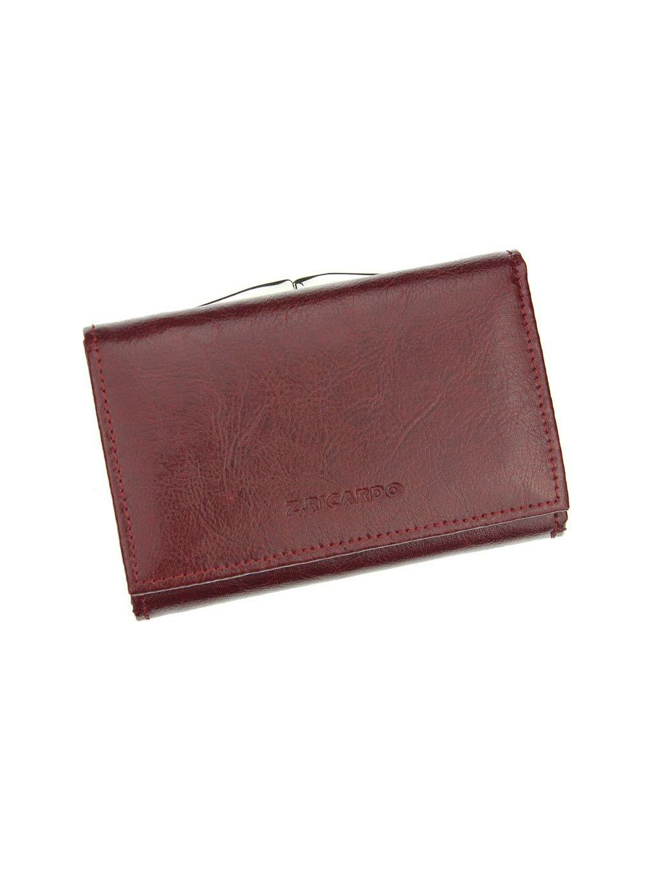 Dámská kožená peněženka Z.Ricardo 025 vínová