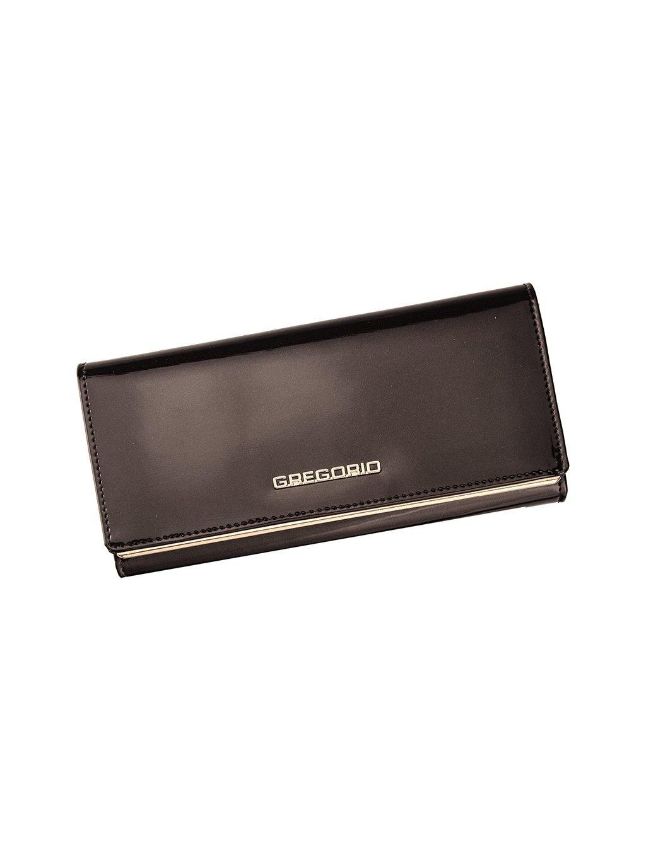Dámská kožená peněženka Gregorio ZLL-106 tmavě hnědá
