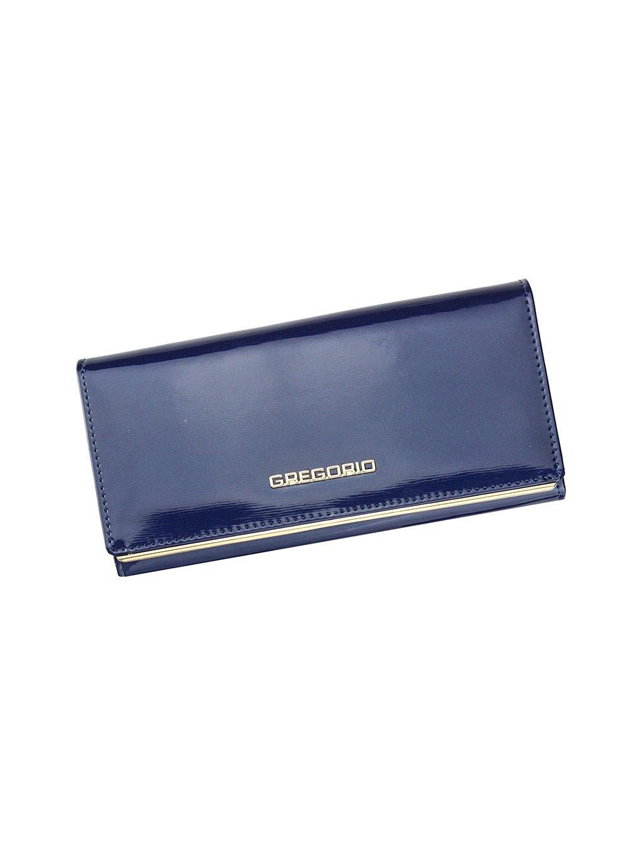 Dámská kožená peněženka Gregorio ZLL-106 modrá