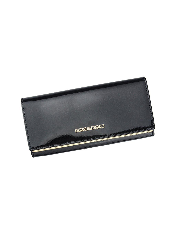 Dámská kožená peněženka Gregorio ZLL-106 černá