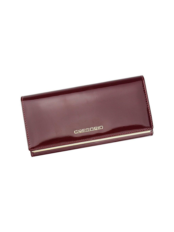 Dámská kožená peněženka Gregorio ZLL-106 červená