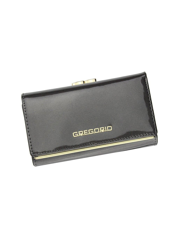 Dámská kožená peněženka Gregorio ZLL-108 šedá