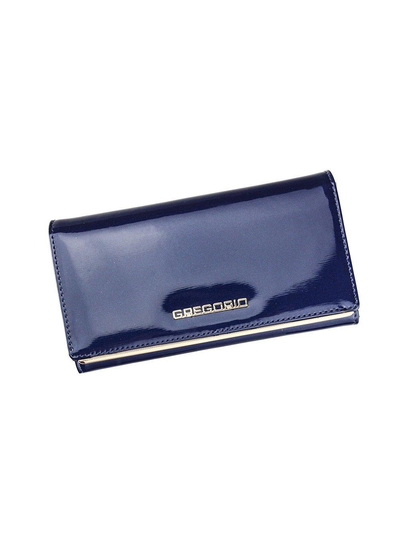 Dámská kožená peněženka Gregorio ZLL-114 modrá