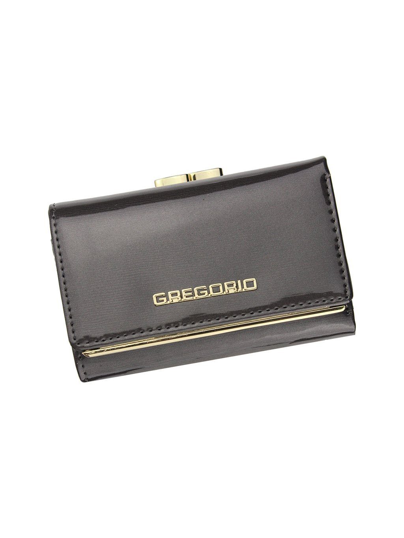 Dámská kožená peněženka Gregorio ZLL-117 šedá