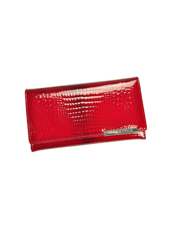 Dámská kožená peněženka Gregorio GF114 červená