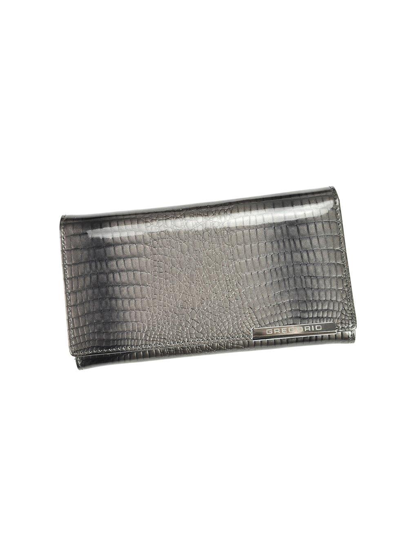Dámská kožená peněženka Gregorio GF114 šedá