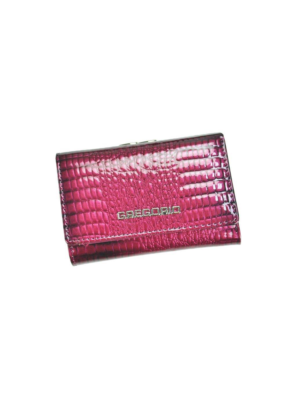 Dámská kožená peněženka Gregorio GF-117 fialová