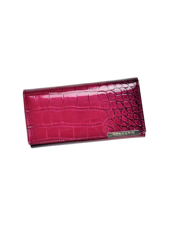 Dámská kožená peněženka Gregorio BC-102 fialová