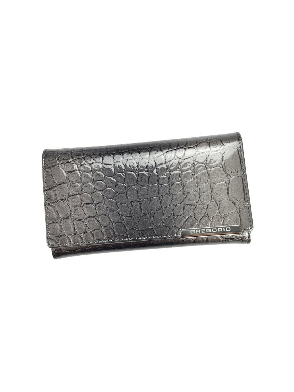 Dámská kožená peněženka Gregorio BC-114 šedá