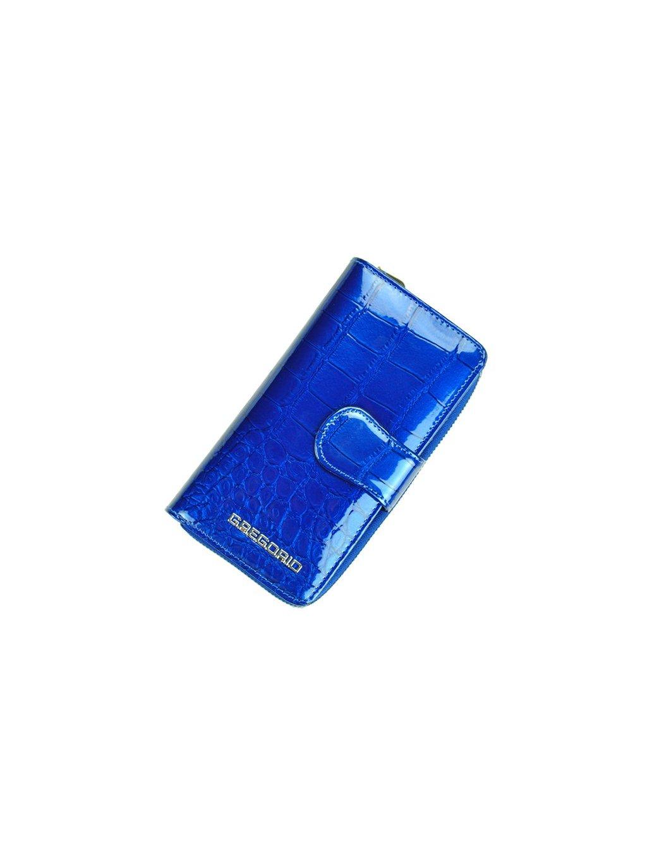 Dámská kožená peněženka Gregorio BC-116 modrá