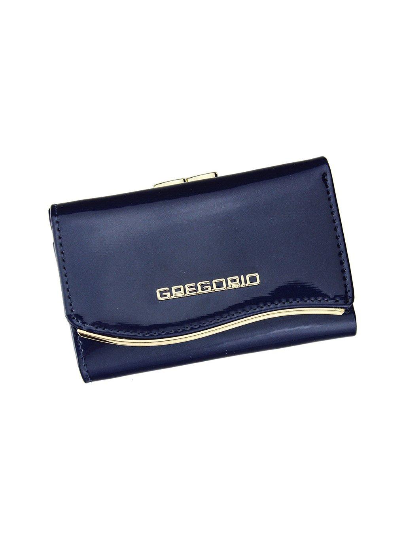 Dámská kožená peněženka Gregorio ZLF-117 modrá
