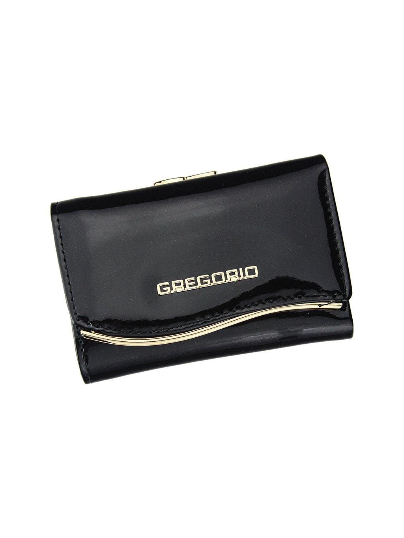 Dámská kožená peněženka Gregorio ZLF-117 černá