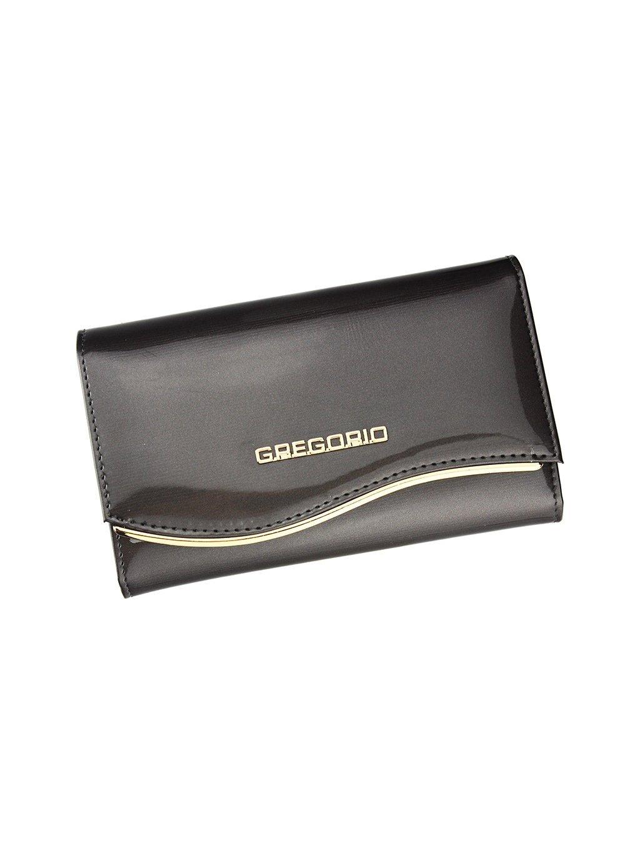 Dámská kožená peněženka Gregorio ZLF-101 šedá