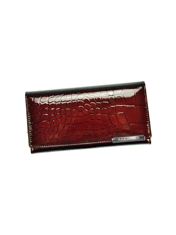 Dámská kožená peněženka Gregorio BC-106 tmavě hnědá