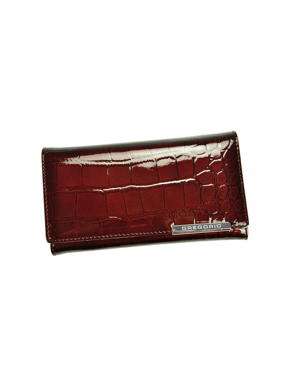 Dámská kožená peněženka Gregorio BC-114 tmavě hnědá