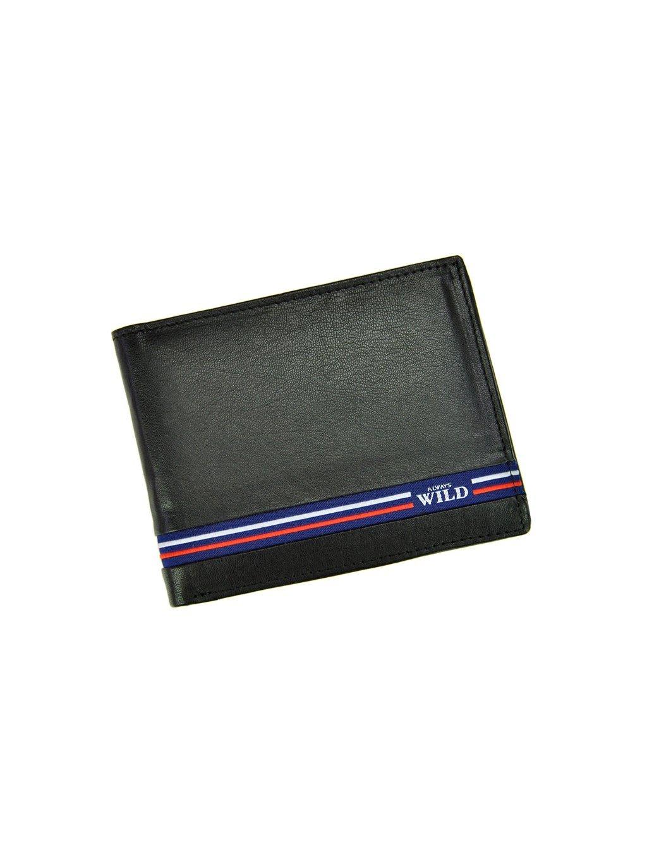 Pánská kožená peněženka Cavaldi Wild N992-GV černá