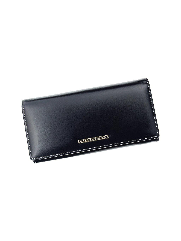 Dámská kožená peněženka Gregorio N-102 modrá