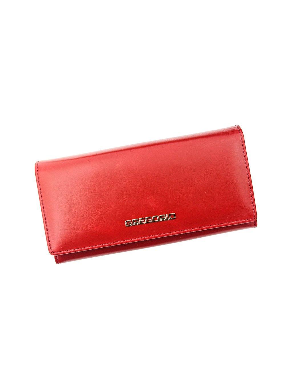 Dámská kožená peněženka Gregorio N106 červená