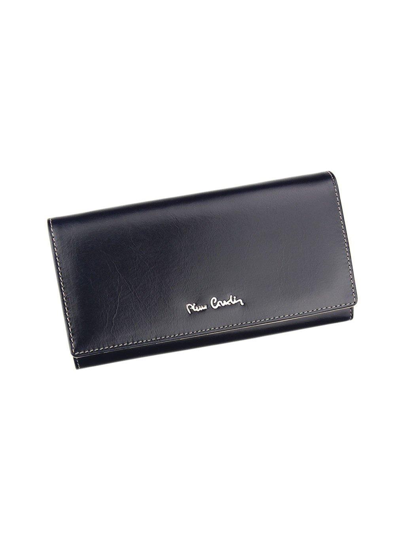 Dámská kožená peněženka Pierre Cardin 01 LINE 100 modrá