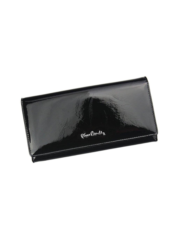 Dámská kožená peněženka Pierre Cardin 02 LEAF 106 černá