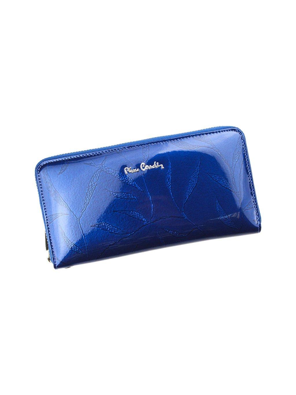 Dámská kožená peněženka Pierre Cardin 02 LEAF 119 modrá
