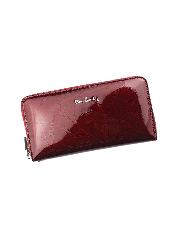 Dámská kožená peněženka Pierre Cardin 02 LEAF 119 vínová