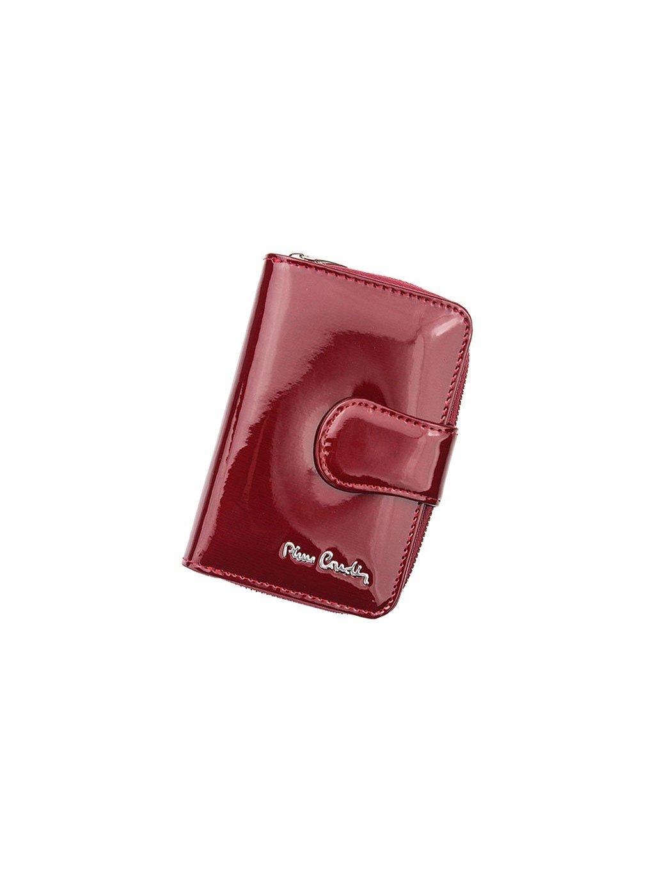 Dámská kožená peněženka Pierre Cardin 05 LINE 115 červená