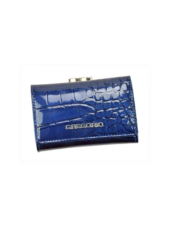 Dámská kožená peněženka Gregorio BC-117 modrá