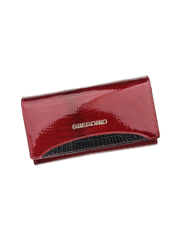Dámská kožená peněženka Gregorio GP-114 červená