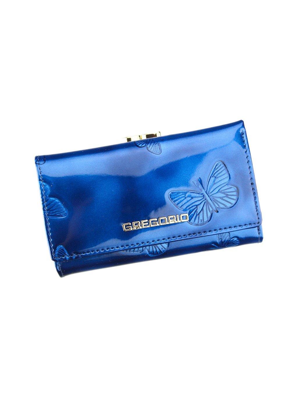 Dámská kožená peněženka Gregorio BT-108 modrá