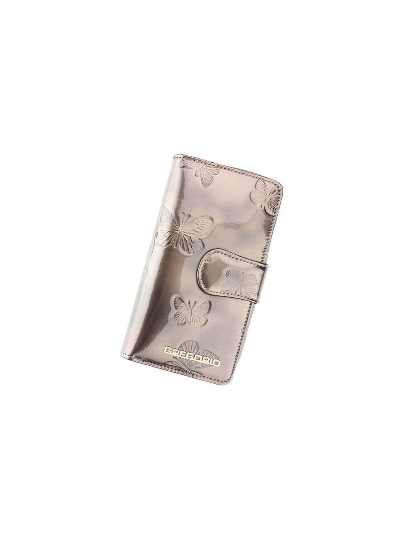 Dámská kožená peněženka Gregorio BT-116 šedá