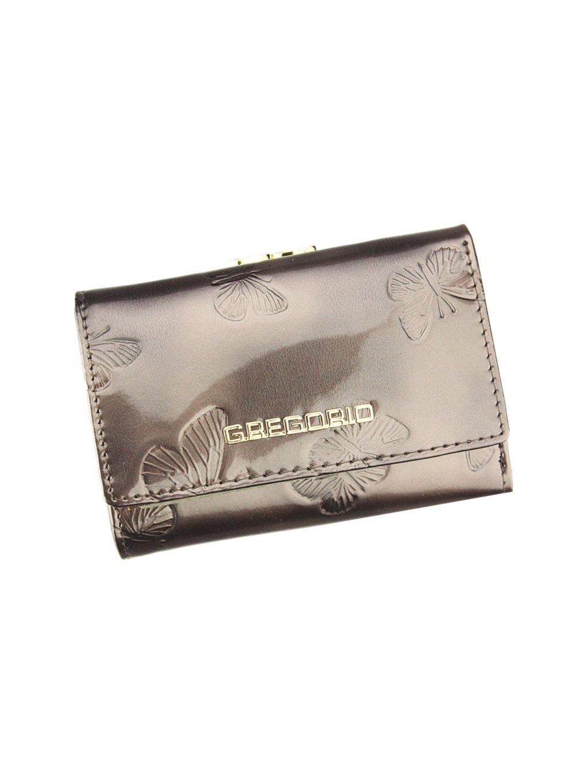 Dámská kožená peněženka Gregorio BT-117 šedá