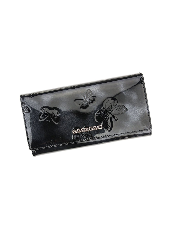 Dámská kožená peněženka Gregorio BT-106 černá