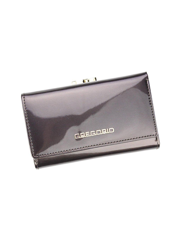 Dámská kožená peněženka Gregorio SH-108 šedá